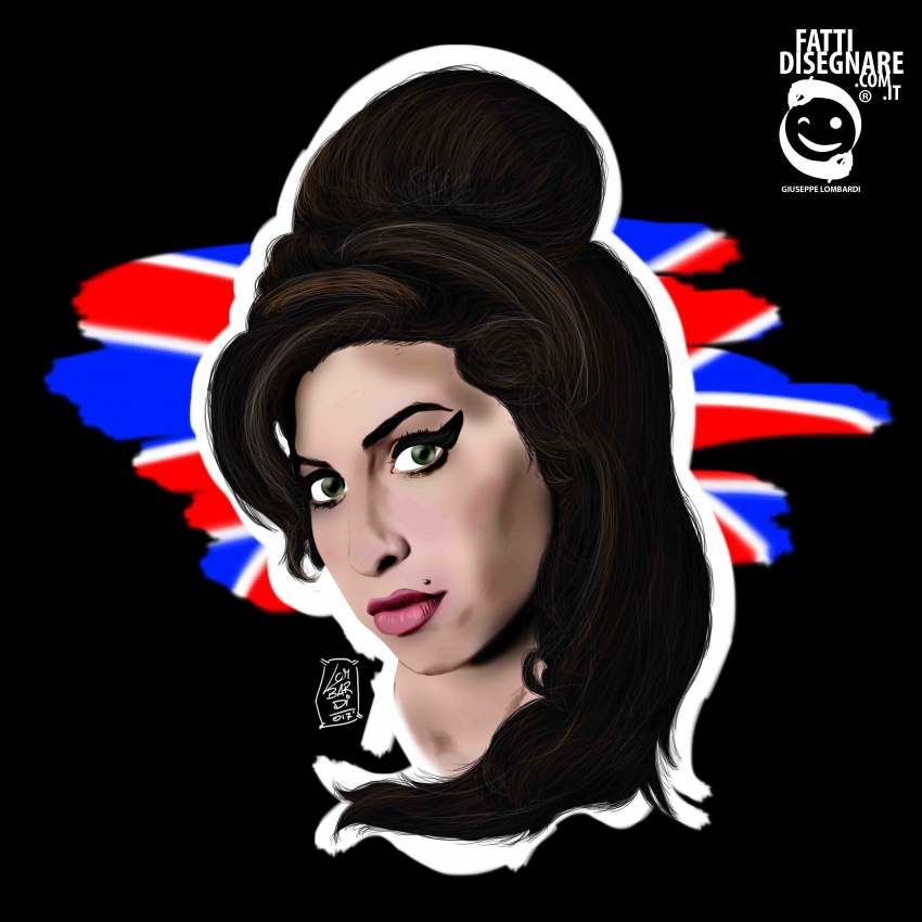 Amy Winehouse by fattidisegnare